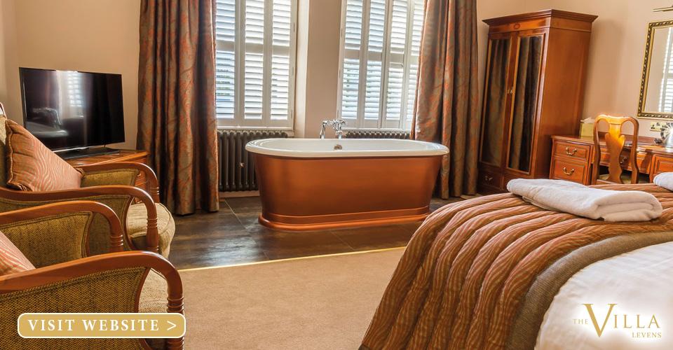 The Villa Levens Hotel Cumbria South Lakes
