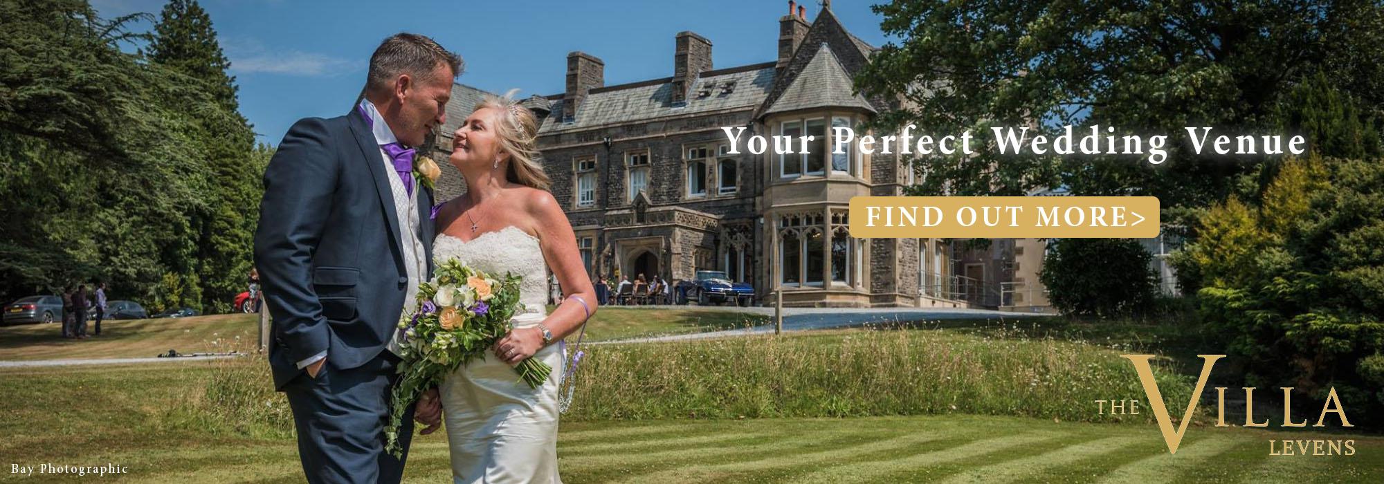 The Villa Levens Wedding Venue South Lakes
