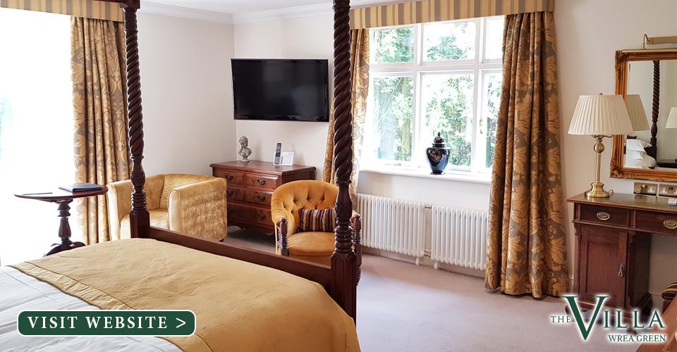 The Villa Wrea Green Hotel Lancashire