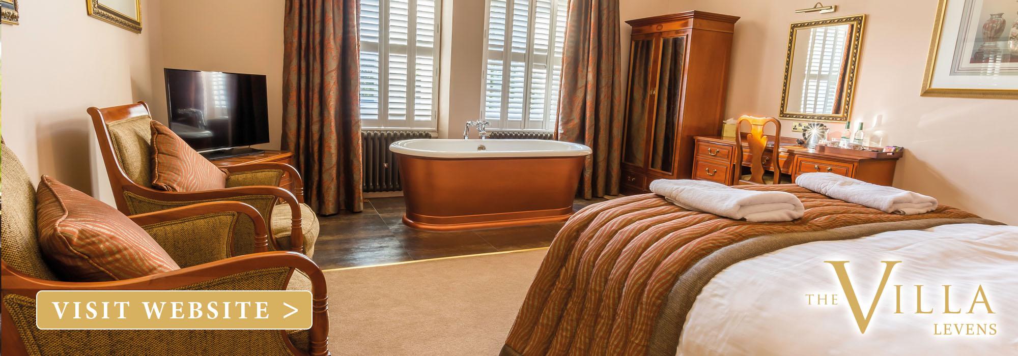 The villa levens hotel bedroom