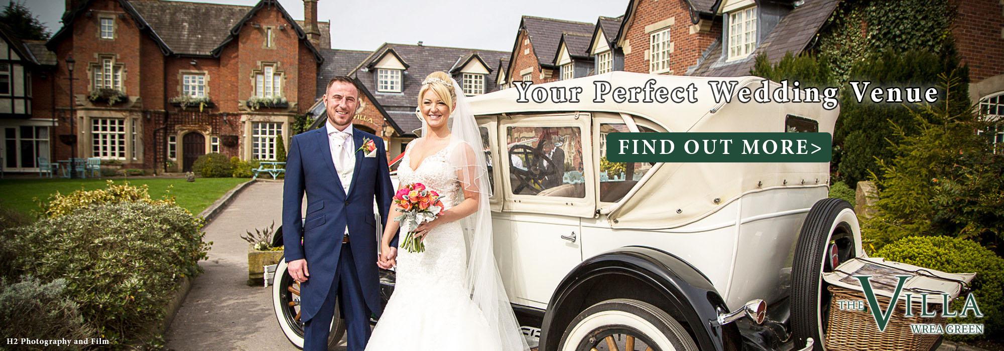 the villa wrea green wedding venue lancashire
